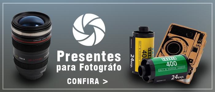 Confira presentes para fotógrafos