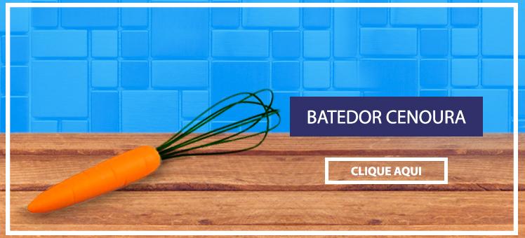 Para os amantes da cozinha um Batedor Cenoura