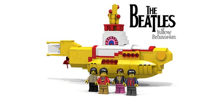 Produtos dos Beatles - Lego