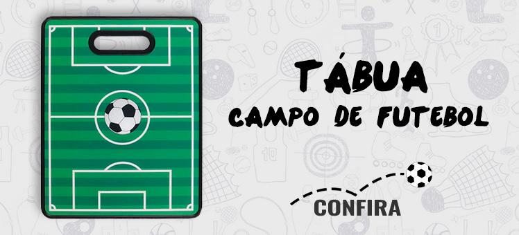 Demonstre paixão pelo seu time com a Tábua Campo de Futebol