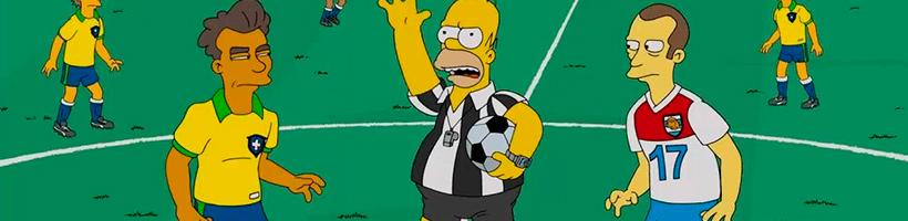 Homer na copa do mundo