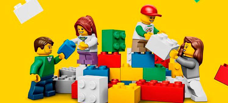 LEGO, nos cinemas, na sua casa e no mundo