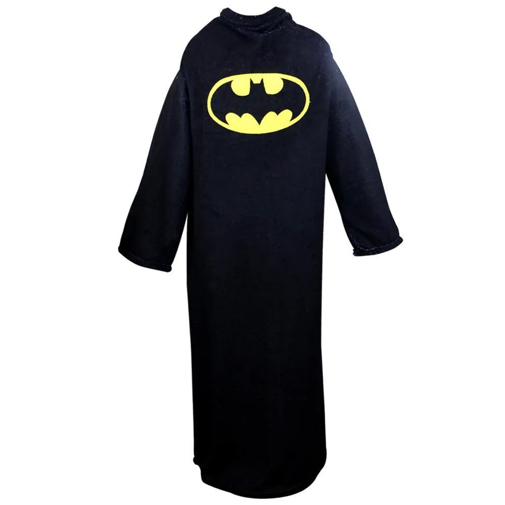 cobertor com manga batman