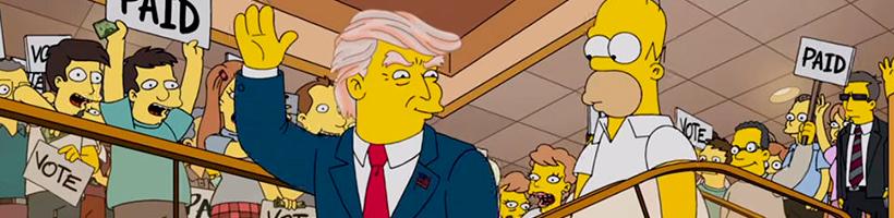 Donald Trump Episódio Simpsons