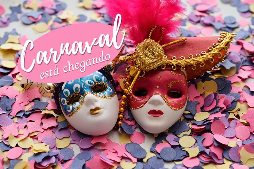 Carnaval está chegando com tudo