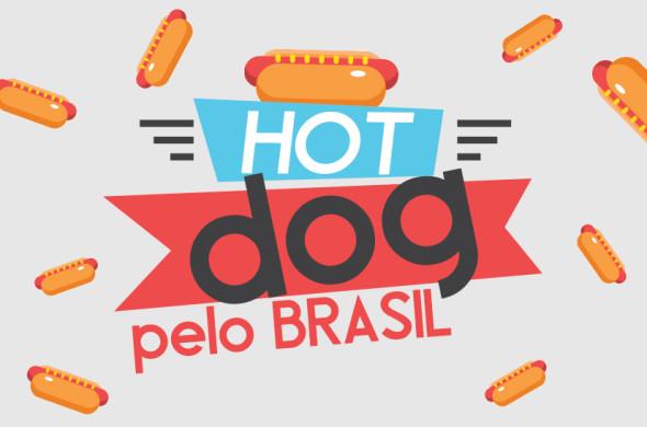 Como é o cachorro quente pelo Brasil!