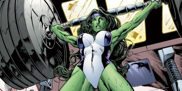 10 super-heroínas poderosas - mulher-Hulk