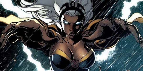 10 super-heroínas poderosas - tempestade