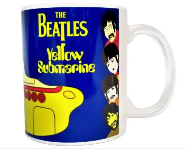 Presentes que todo pai gostaria de ganhar - Caneca Beatles Yellow Submarine