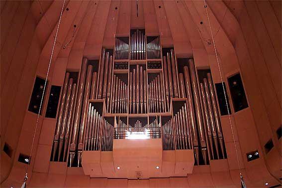 Sydney Opera House Grande Órgão de Concert Hall