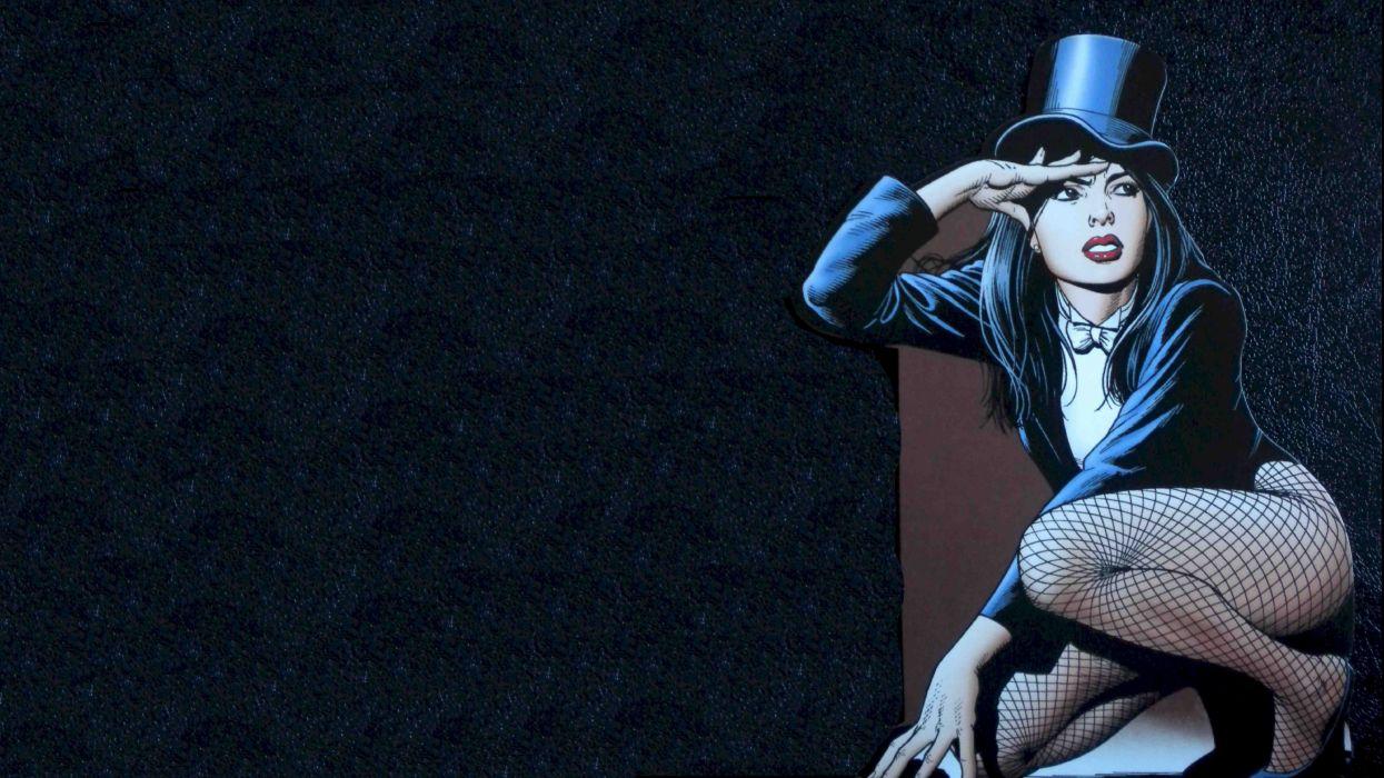 Universo DC Comics - Zatanna Zatara