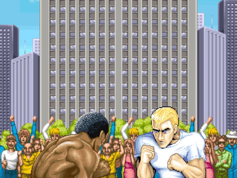 abertura de Street Fighter
