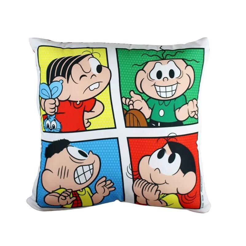 decoraçao-criativa-almofada-turma-monica-quadrinhos