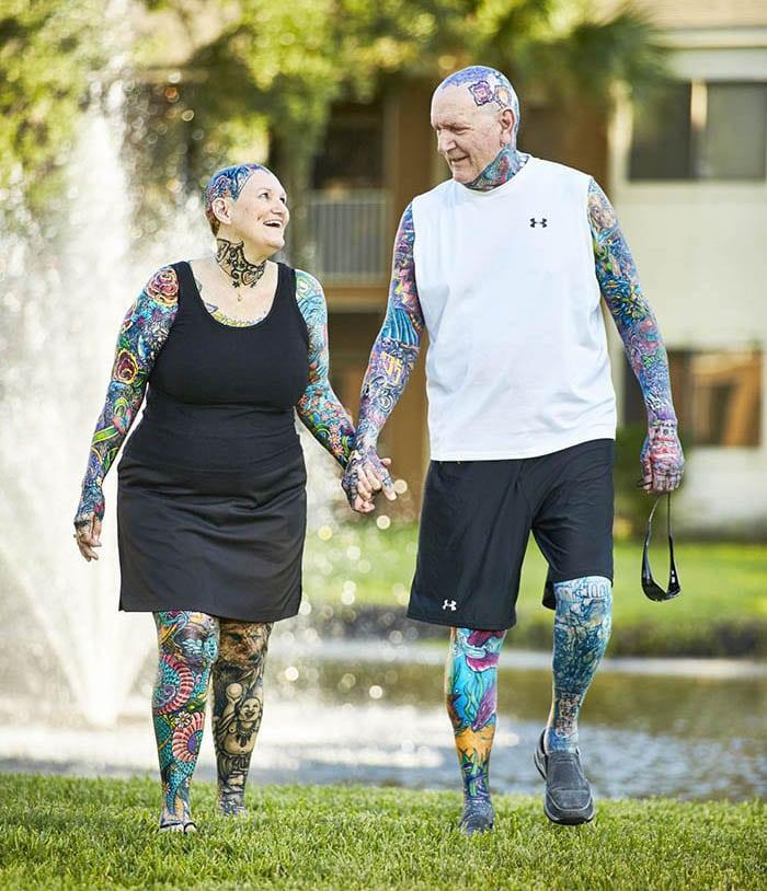 casal-de-idosos-mais-tatuados-do-mundo